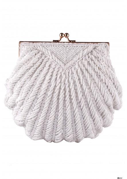 European And American New Handmade Beaded Embroidery Handbags