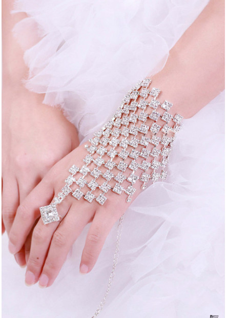 Super Flash Rhinestone Bracelets