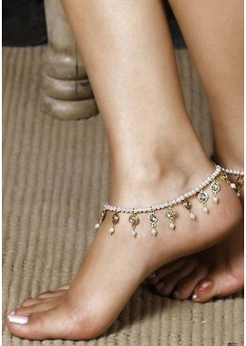 Beaded Crystal Anklets