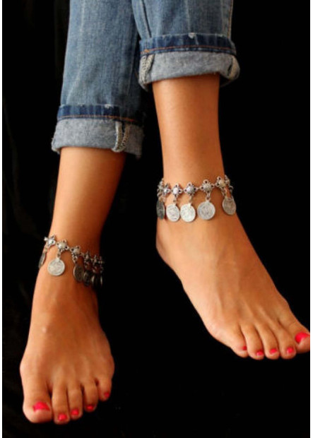 New Coin Anklets