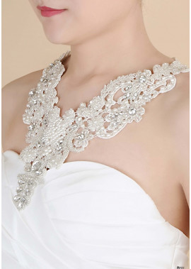 Pearl Lace Wedding Shoulder Chains