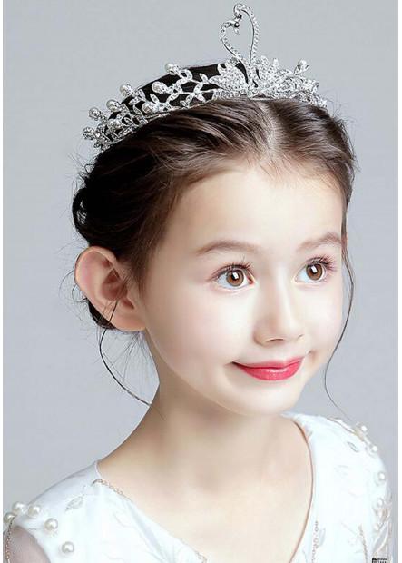 Exquisite Crystal Kid Tiaras