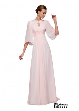 Firstdresss 2020 Long Chiffon Mother Of The Bride Evening Dress For Wedding