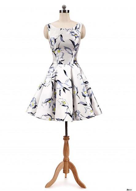 Printed Fashion Party Dresses