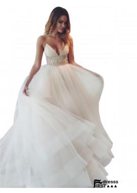 Firstdresss 2021 Beach Wedding Ball Gowns