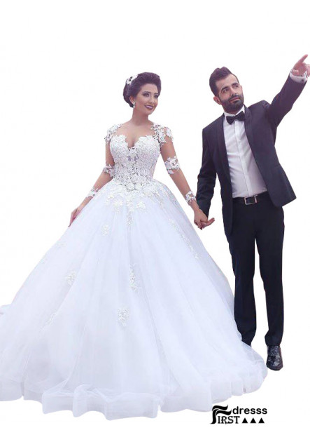 Firstdresss 2021 Ball Gowns Wedding Dress Dream