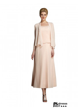 Mother Of Bride 2 Piece Dress With A Chiffon Jacket