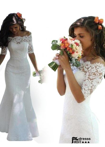 Cheap Firstdresss 2021 Lace Wedding Dress