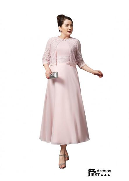 Cheap Plus Size Mother Of The Bride Dress Tea Length