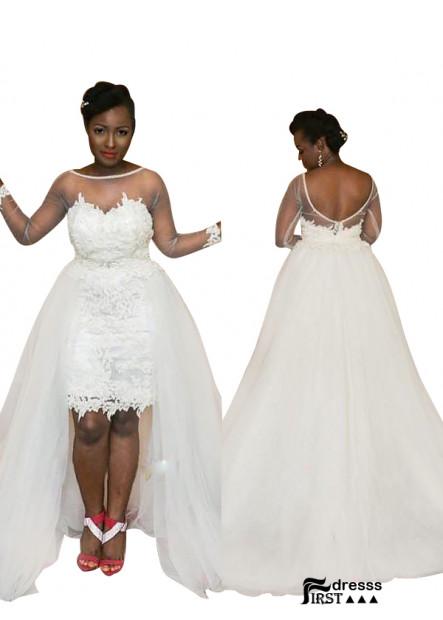 Firstdresss 2021 Short Plus Size Wedding Ball Gowns