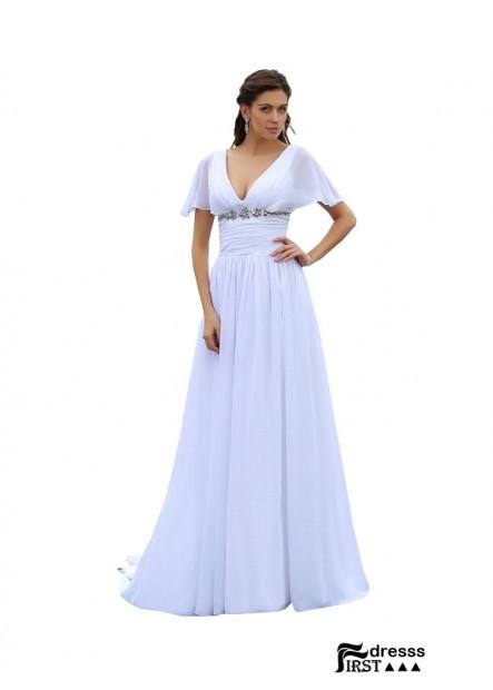 Firstdresss 2020 Beach Plus Size Wedding Dresses