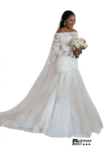 Firstdresss 2021 Plus Size Wedding Dress