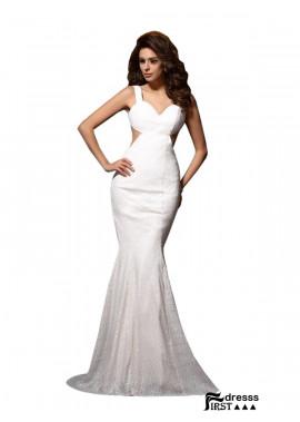 Firstdresss Sexy Mermaid Prom Evening Dress