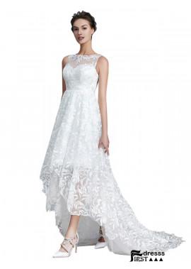 Firstdresss 2021 Beach Short Lace Wedding Dresses