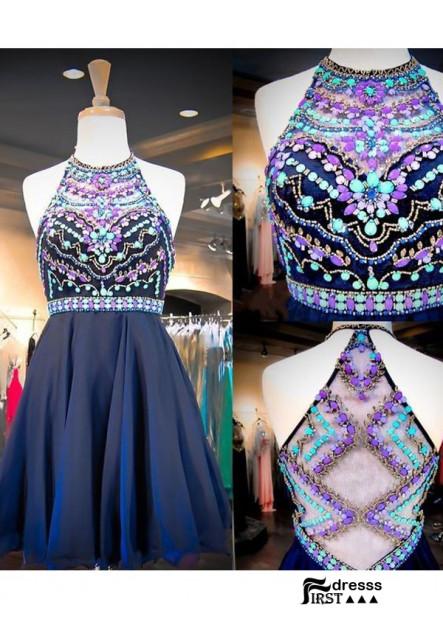 Firstdresss Short Homecoming Prom Evening Dress