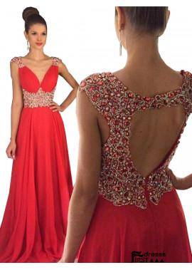 Firstdresss Long Prom Evening Dress
