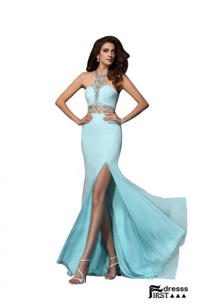 Firstdresss Sexy Long Prom Evening Dress