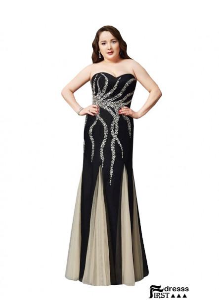 Firstdresss Sexy Plus Size Prom Evening Evening Dress