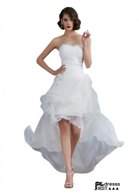 Firstdresss 2021 Beach Short Wedding Dresses