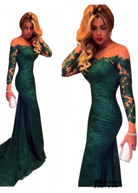 Firstdresss 2020 Mermaid Long Formal Evening Dresses With Sweep Train