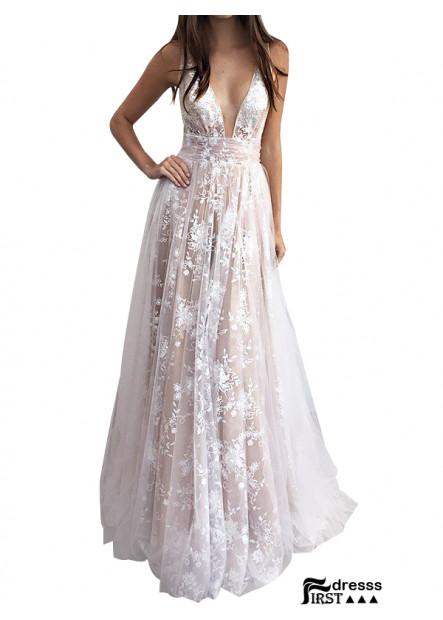 Firstdresss Long Prom Evening Dress For Teens