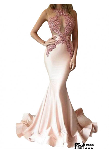 Firstdresss Sexy Mermaid Long Prom Evening Dress