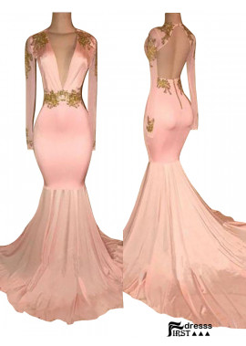 Firstdresss Women Long Prom Evening Dress