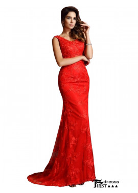 Firstdresss Mermaid Prom Evening Dress