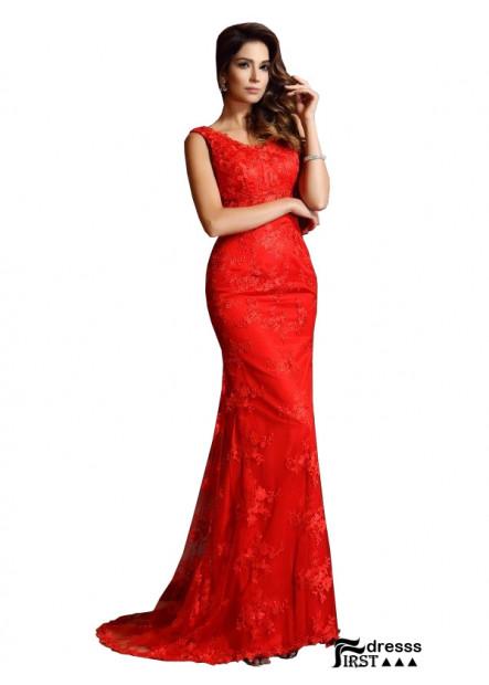 Firstdresss Mermaid Prom Evening Dress
