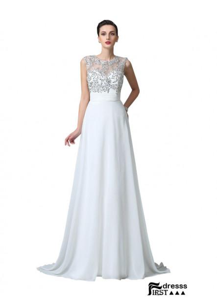 Firstdresss White Dress for Juniors