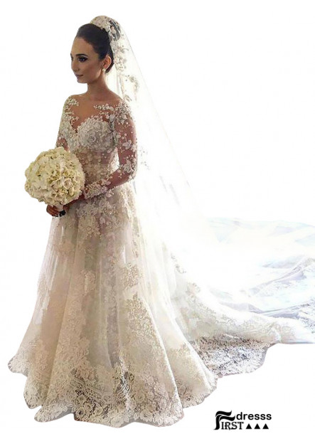 Firstdresss 2021 Lace Fashion Wedding Dress Online Shop