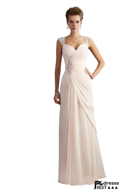 Firstdresss White US Women Long Prom Evening Dress For Wedding