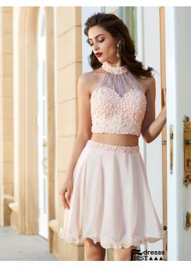 Firstdresss 2 Piece Short Homecoming Prom Evening Dress