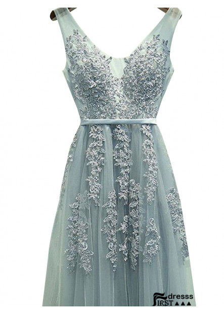 Firstdresss Long Prom Evening Dress