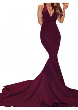 Firstdresss Sexy Junior Mermaid Long Prom Evening Dress