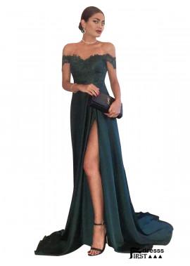 Firstdresss Cut Long Prom Evening Dress