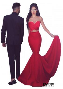 Firstdresss Stunning Mermaid Long Prom Evening Dress