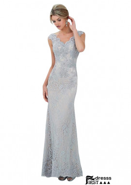 Firstdresss V Neck Sheath Long Mother Of The Bride Dresses Online