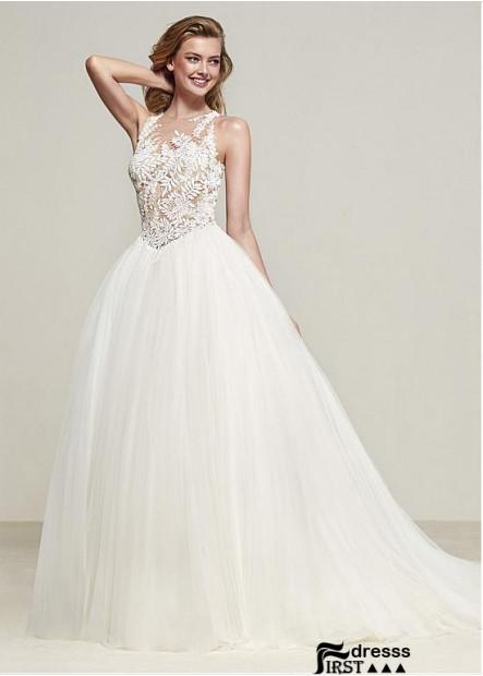 Firstdresss Lace Wedding Dress