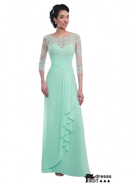 Firstdresss Best A Line Mother Of The Bride Dress With Short Sleeves
