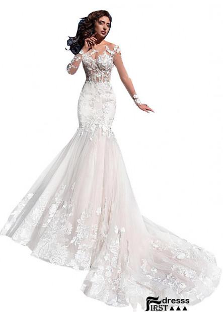 Firstdresss Empire Wedding Dress With Cap Sleeves 2021