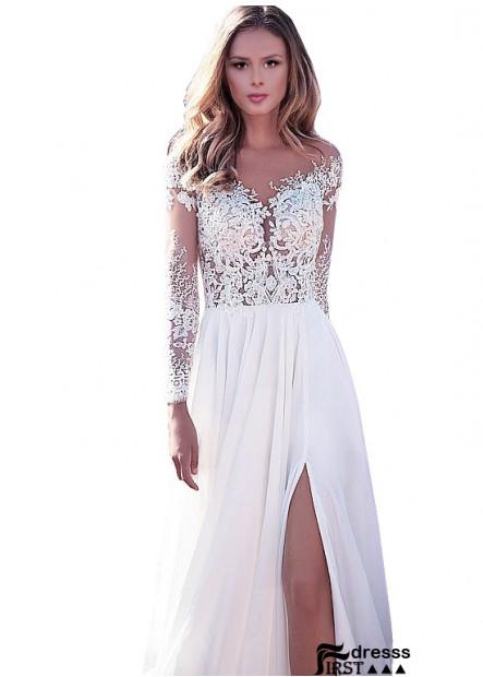 2021 Cheap Beach Wedding Dress Evening Formal Dresses