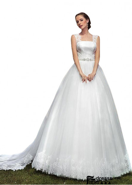 Firstdresss Long Wedding Ball Gowns With Long Train Online