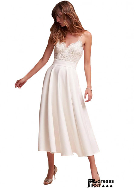 Firstdresss Beach Short Wedding Dresses