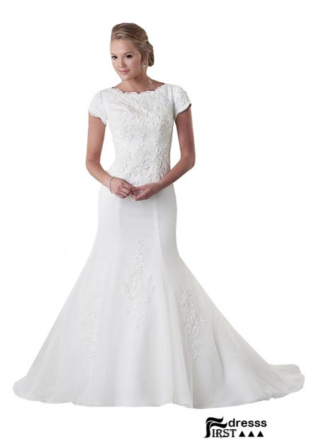 Firstdresss Plus Size Over 40 Wedding Dress Ideas US Sale