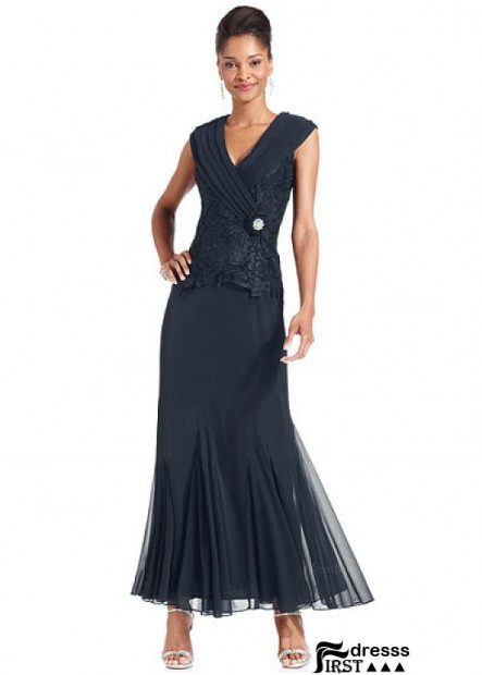 Firstdresss V Neck Sheath Dress For Women and Mother Of The Bride