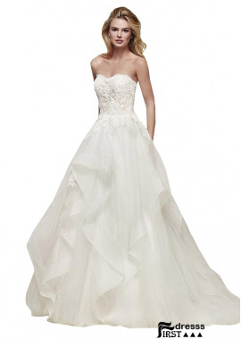 Firstdresss Beach Wedding Ball Gowns