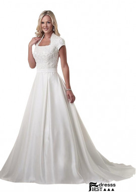 Firstdresss Plus Size Wedding Dress