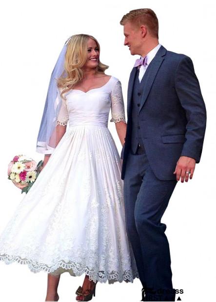 Firstdresss Beach Short Wedding Ball Gowns