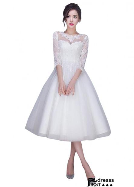 Firstdresss Short Wedding Dress